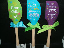 Brownlow Gift Gourmet Silicone Spatulas with Wooden Handles
