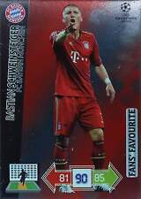 PANINI ADRENALYN - CHAMPIONS LEAGUE 2012-2013 - FANS´ FAVOURITE - zum wählen