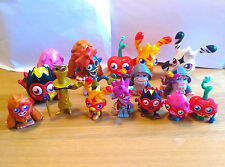 SUPER MOSHI MONSTERS FIGURES MOSHLING - INCLUDES DR STRANGEGLOVE ULTRA RARE!