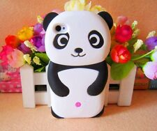 Black White Funny 3D Panda Bear Case Cover for iphone ipod MOBILE PHONES FS