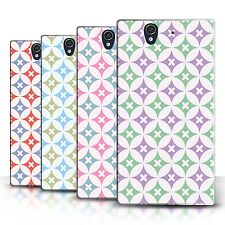 STUFF4 Back Case/Cover/Skin for Sony Xperia Z/Kaleidoscope Pattern