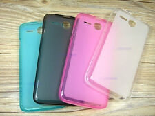 Soft TPU Silicone Gel Clear Skin Case Cover for 5.0'' Lenovo A680