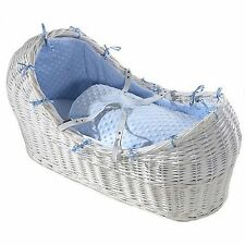 Izzy Pod Basket / Moses Basket / Crib + Inc Stand and choice of bedding colour