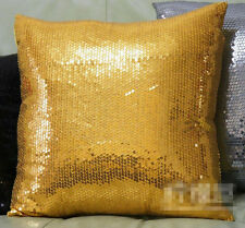 1pcs Pillow  Sequins Decorative cushion Sparkling 16.9 inch silver / Gold