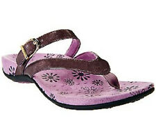 Ladies Vionic w/ Orthaheel ROSEMARY Lavender Thong Sandals-PRE OWNED (8A3)