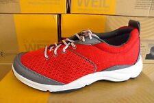 Ladies Dr. Andrew Weil by Orthaheel RHYTHM Red Sneaker- PREOWNED! (11B3)