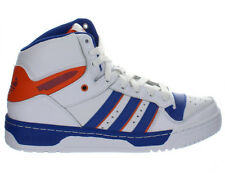 Mens Adidas Attitude Hi Knicks White Blue Orange D73897