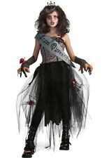 GOTH Prom Queen Child Costume HALLOWEEN Scary Spooky Girls