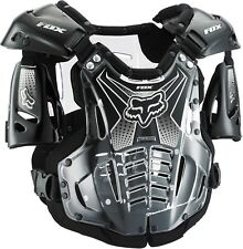 Fox Racing NEW Mx AirFrame Black Clear Chest Protector Motocross Body Armour