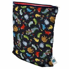 """Planet Wise 12.5 x 16"""" Reusable Wet Bag Anti-Microbial - waterproof + washable 3"""