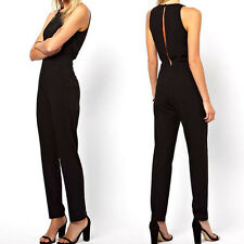 New Women Sexy Bodycon Bandage Strapless Tight Waist Jumpsuits Exposed dress 046