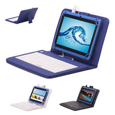 "IRULU X1 7"" Tablet PC 8GB Android 4.4 Dual Core Cameras 1.5GHz w/ Keyboard WIFI"