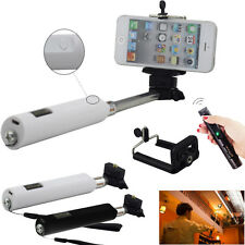 4 Keys Bluetooth Remote Self-timer Monopod Fit For iPhone iOS Android Cell Phone