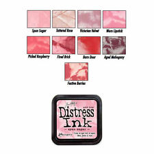 Tim Holtz Distress Rubber Stamp Ink Pad Pinks/Reds