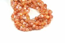 red banded agate, round, 4-14mm, red bead, jewelry making bead,  component