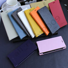 Luxury Flip Leather Book Case Hard Cover For Huawei Ascend P7