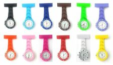 Nurses Ladies Girls Womens Hospital Watch Time Piece Clock Fob Brooch Pin NEW