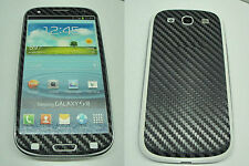 Samsung Galaxy S3 - 3M Di-Noc Carbon Fiber - Full Body Vinyl Decal Skin Sticker