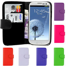 PU Leather Magnetic Book Flip Phone Case Cover For Samsung Galaxy S3 III i9300