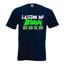 "Richard Sherman Seattle Seahawks ""Legion of Boom"" jersey  T-shirt Onsie S-XXXXXL"
