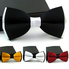 Men Fashion Novelty Adjustable Tuxedo Suit Bowtie Wedding Party Bow Tie Necktie