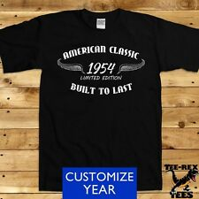 American Classic 1954 T Shirt 60th Birthday Gifts for Dad Bday Men's TShirt