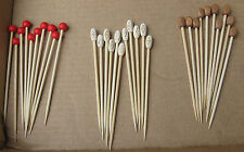 "100 4.5"" party picks STURDY Sandwich sticks 3 types of bamboo 11.5 cm hair?"