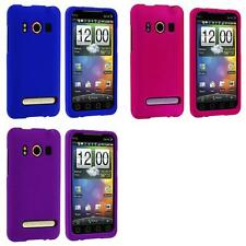 For HTC Sprint EVO 4G Phone Color Hard Snap-On Rubberized Skin Case Cover