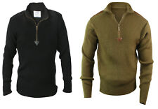 Sweater Commando Military Quarter Zip Acrylic Zip Up Rothco