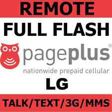 [REMOTE] Full Flash Sprint LG Optimus G LS970 to Page Plus - Talk/Text/3G/MMS