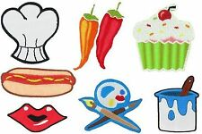 Apron Appliques Iron-on Appliques by SIMPLICITY - NEW