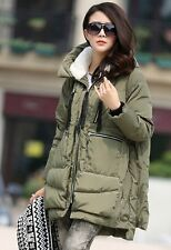 Fashion pregnant women winter loose cotton coat maternity hoodies loose jacket