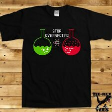 Funny Science Shirt Nerd T Shirt Gifts For Geeks Chemistry Joke Men's TShirt