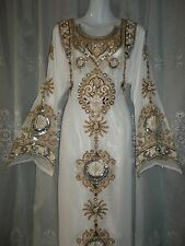 ( 3 SIZES ) NEW DUBAI STYLE,ABAYA,JILBAB,THOB,KAFTAN KHALEEJI,DRESS,COSTUME