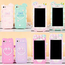 New Cute Little Twin Stars My Melody Silicone Soft Case For Apple iphone 5/5S