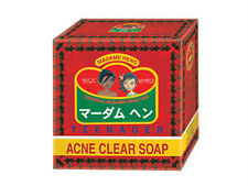 Madame Heng Acne Clear Soap Teenager Herbal Oil Control Gentle Cleansing