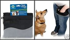 Pet Treat Pouch The hinge stays open for easy access to food or toys Premier Pet