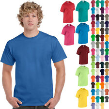 Plain Mens Gildan 100% Cotton T-Shirt Blank Short Sleeve Workout Tee Tshirt S-XL