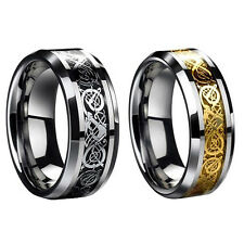 New Dragon Scale Ring Rings Jewelry Wedding Band 18K Gold 8 9 10 11 12 13