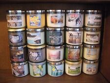 Bath and Body Works 3 Wick Candles--All Rare and HTF!