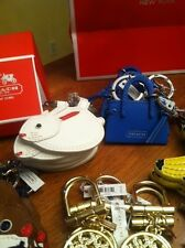 NWT COACH KEYCHAIN/FOB AUTHENTIC - 2 bunny's left (rest sold)