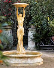 Large Cecilia Outdoor Garden Water Fountain by Orlandi Statuary  FS7869