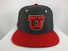 UNIVERSITY OF UTAH UTES NCAA FLEX/FITTED CAP 7, 71/2, 73/4  ADULT HAT BY ZEPHYR