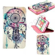 Hot Sale Dream Catcher Card Slot Wallet Flip PU Leather Stand Case Cover Phone