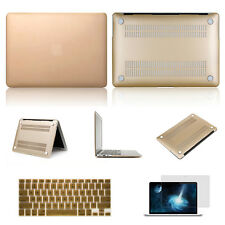 "Champagne Rubberized Hard Case Cover Shell For MacBook Air/Pro/Retina 11"" 13 15"""