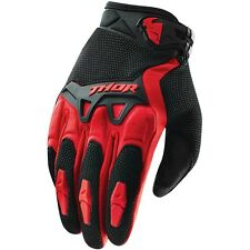 Thor NEW 2016 Youth Mx Gear Spectrum Red BMX Motocross Dirt Bike Kids Gloves