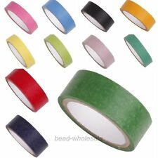 5M/1Roll 15mm Wide Paper Craft Decorative DIY Pure Color Japanese Washi Tape