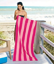 "30"" X 60"" Cabana Stripe Beach/Pool Towel Soft Microfiber"