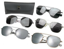 Rothco 10604 Military 52mm Pilots Aviator Sunglasses With Case