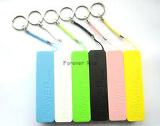 Hi-Power Durable Power Bank Mobile USB 1x 18650 Charger Key Chain For Phone MP3